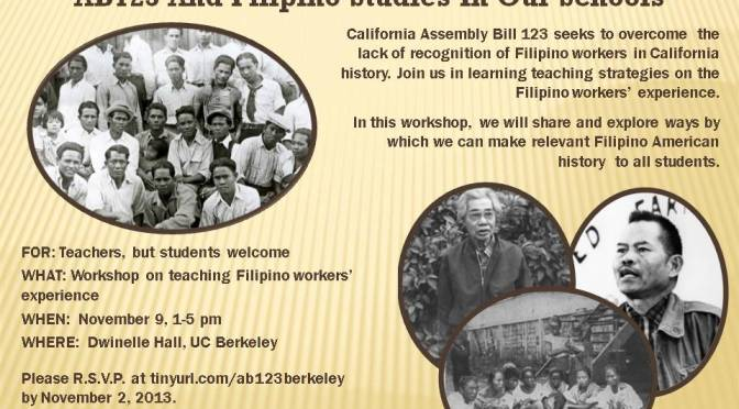 AB123 Workshop for Educators